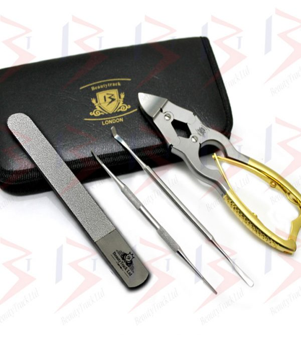 Beautytrack Cantilever Toenail Clippers Podiatry Nipper Set