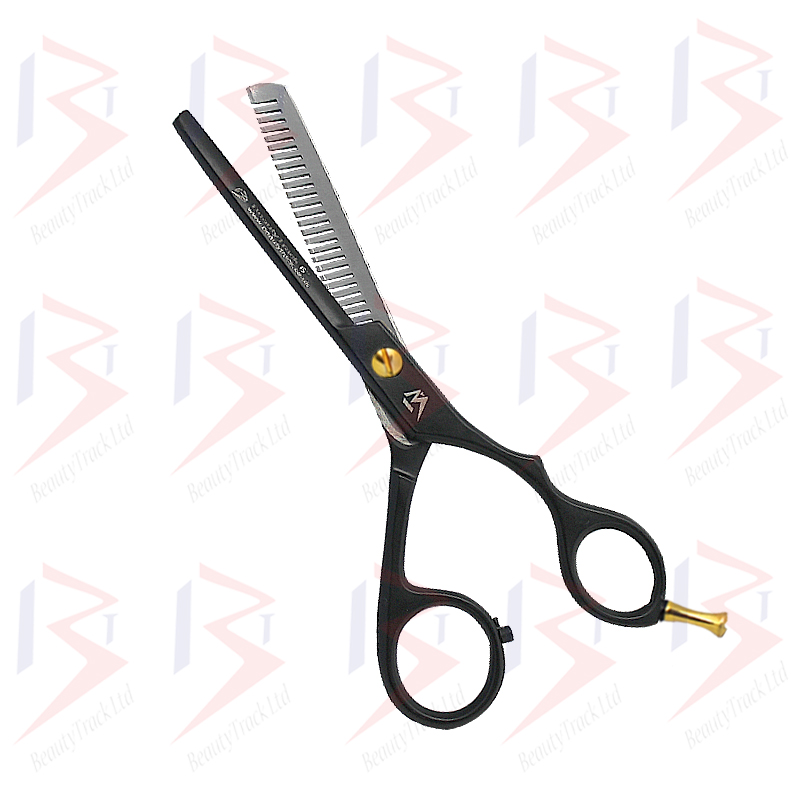 BeautyTrack Hairdressing Thinning Scissor Barber Salon Black 6.0 Inch 1