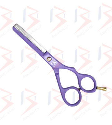 BeautyTrack Hairdressing Thinning Scissor Barber Salon Purple 6.0 Inch